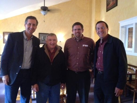 John W, Roger, Phil, John V