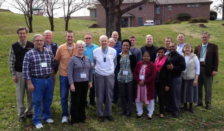 GFI Spirituotherapy Workshop group, March 7-10, 2016 in Pigeon Forge, TN